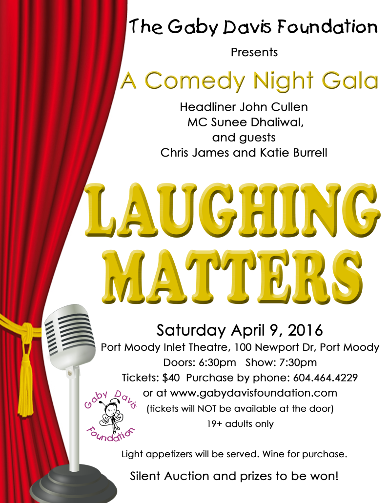 Laughing Matters - Comedy Night Gala!