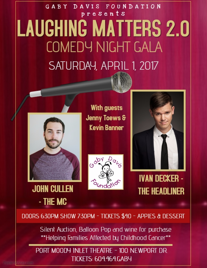 Laughing Matters Comedy Night Gala!