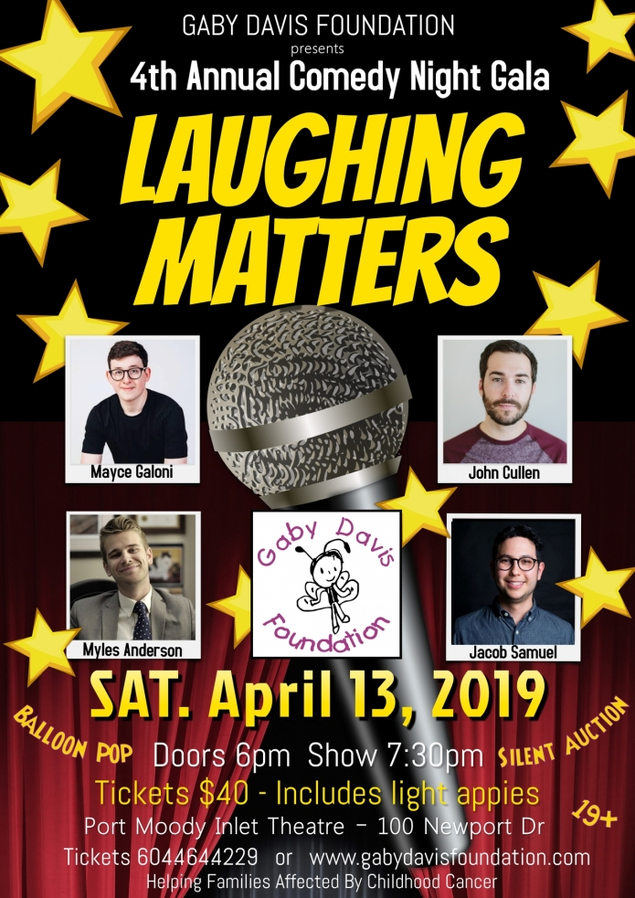 Laughing Matters 2019!