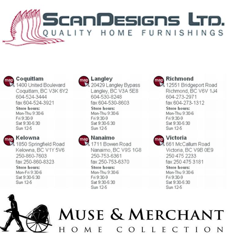 ScanDesigns and Muse & Merchant Charity Promo!